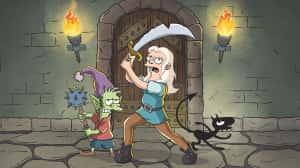 Mira las primeras imágenes de Disenchanted, la nueva serie animada del creador de Los Simpson