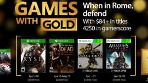 Usuarios Gold de Xbox Live podrán descargar éstos cuatro juegos gratis en abril