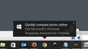 Microsoft apunta a usuarios de Chrome con anuncio emergente en Windows 10