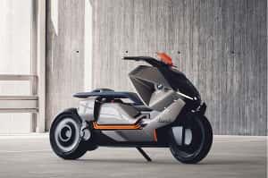 La BMW Motorrad Concept Link es un e-scooter inteligente y futurista