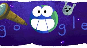 Google lanza doodle en honor al descubrimiento de la NASA