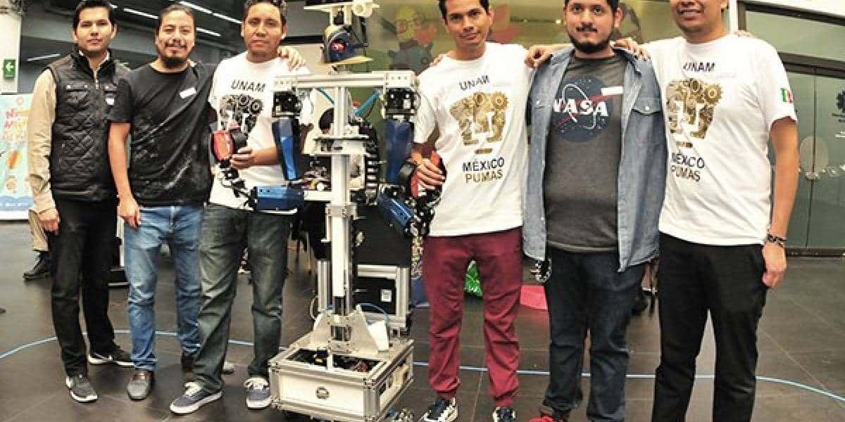 UNAMitas ganan segundo lugar en RoboCup 2018
