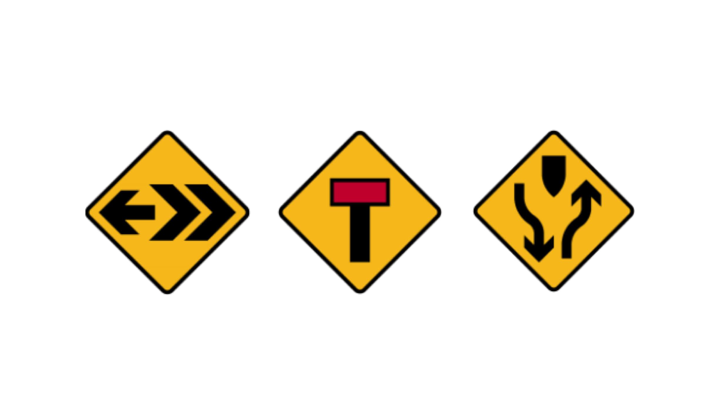 Conoce las señales preventivas y cómo te advierten de un peligro al conducir