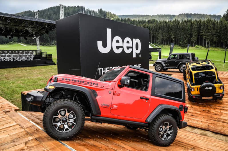 ¿Qué tanto quieren a Jeep en Europa?