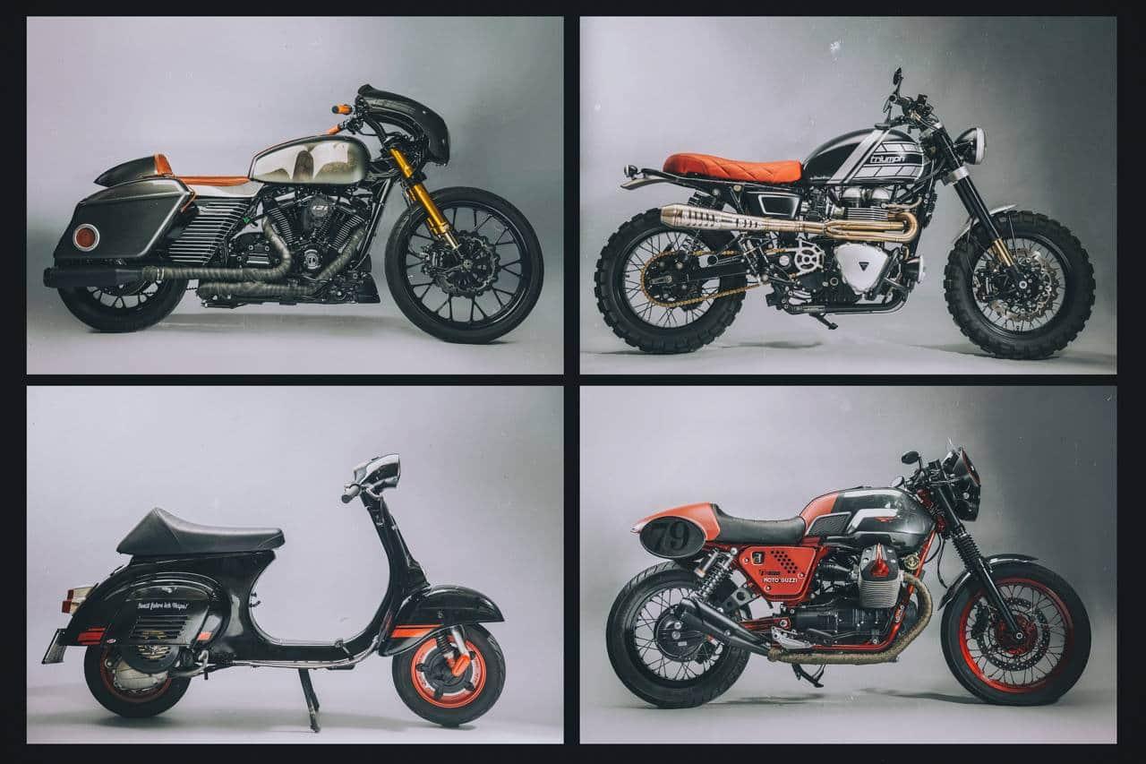 73 Vintage Moto Art by Moto Guzzi