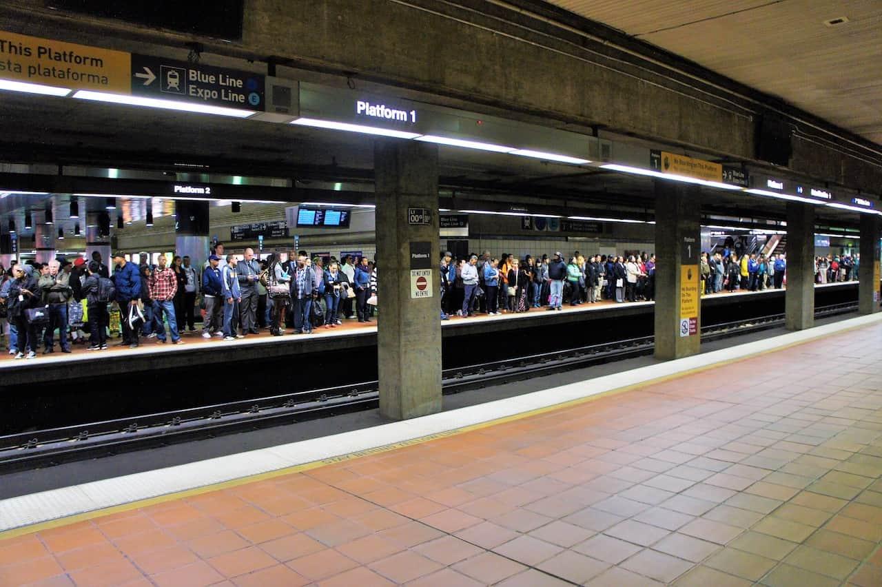 Metro de Los Ángeles, primero de EEUU con escáner corporal