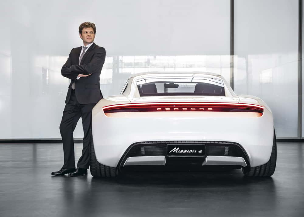 Conoce al creador del primer eléctrico de Porsche: Taycan