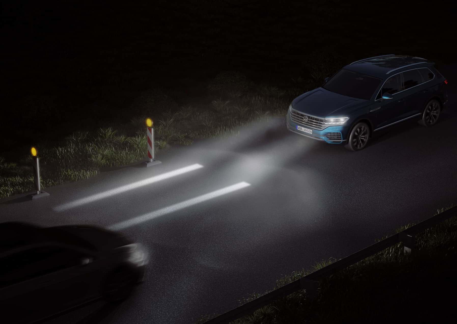Tipos de iluminación: luces diurnas, cortas, largas y de niebla