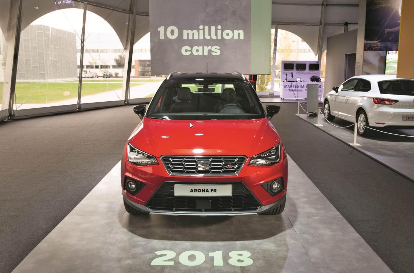 SEAT celebra 10 millones de autos fabricados en Martorell