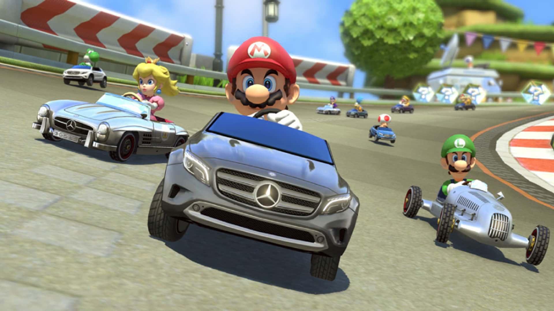 Jugar videojuegos como Mario Kart, ¡te hace un mejor conductor!