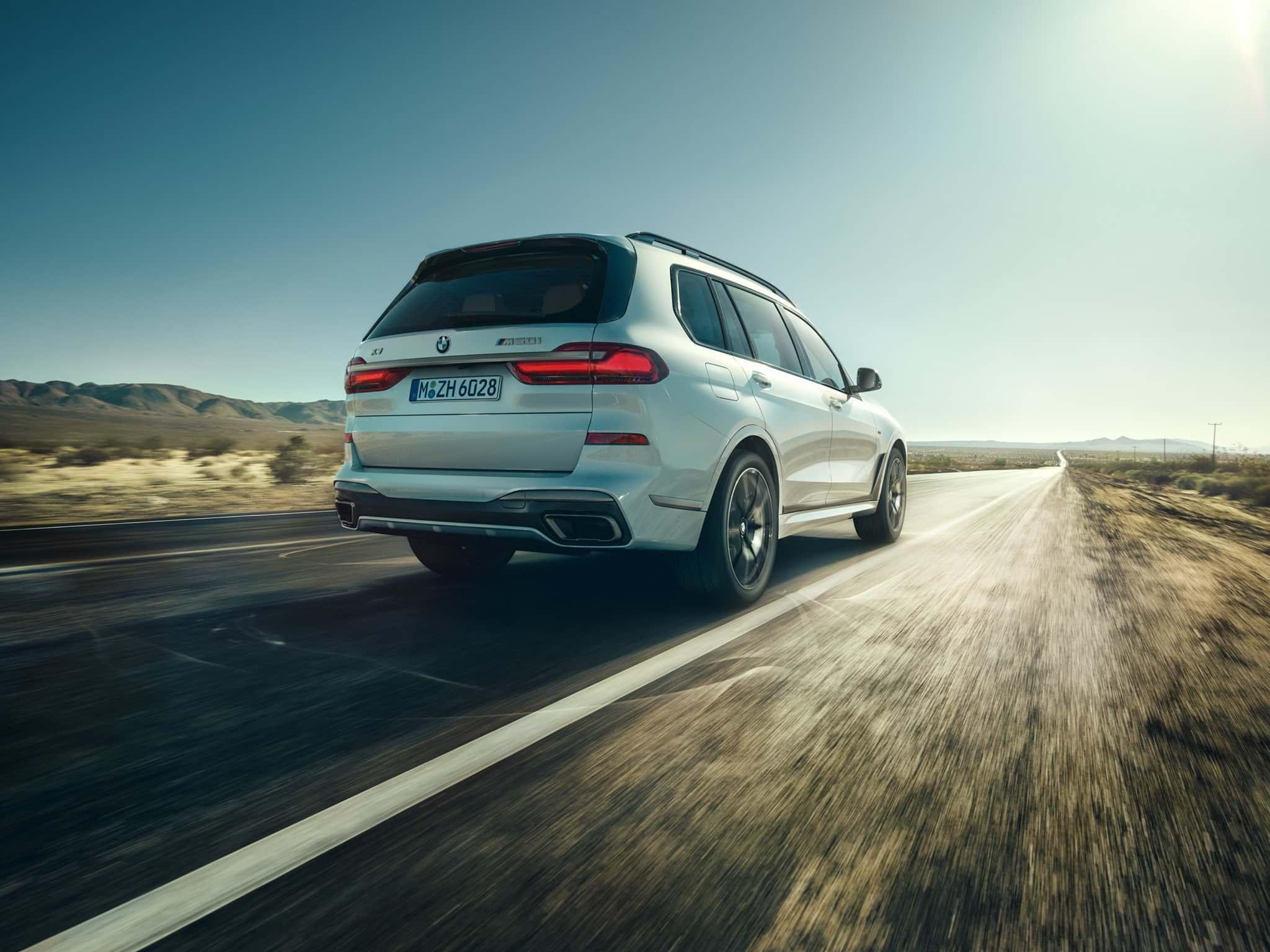 Listos los V8 para BMW X5 y X7: M50i