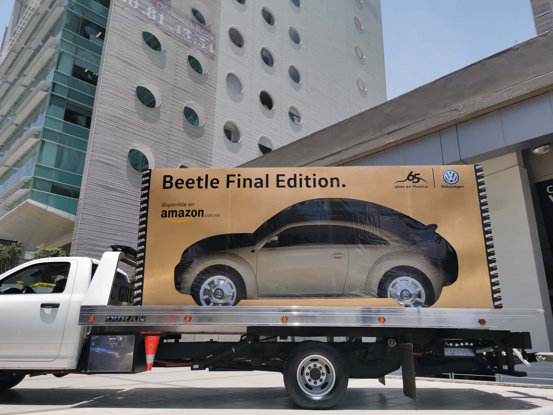 Amazon entregó el último Beetle Final Edition