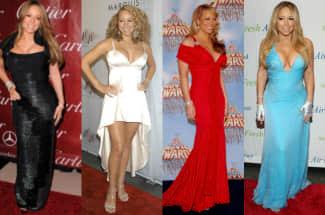Mariah Carey: así ha cambiado el estilo de la sexy diva de la música