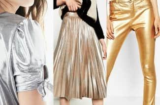 10 prendas metálicas para deslumbrar a todos en la temporada de fiesta