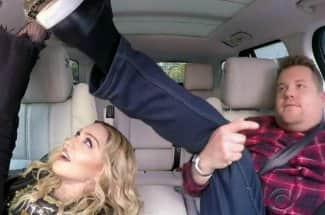 Madonna habló de Michael Jackson e hizo 'twerking' en el Carpool Karaoke