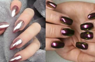 'Chrome nails', la tendencia más sexy de la temporada