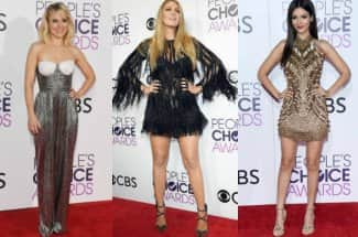 Ellas fueron las mejor vestidas de los People's Choice 2017