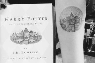 Estos tatuajes inspirados en libros famosos serán tus favoritos si amas leer