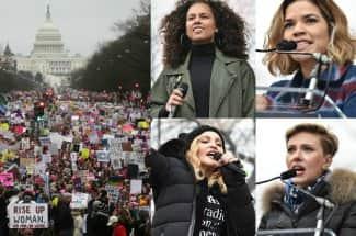 Estas son las frases que marcaron la Marcha de las Mujeres