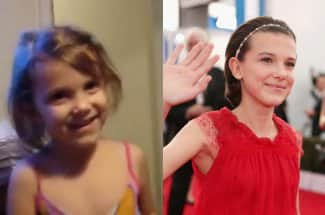 Mira cómo ha cambiado Millie Bobby Brown, 'Eleven', a través del tiempo