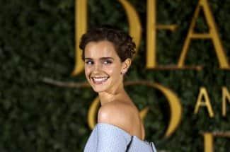 Emma Watson usa vestido hecho con desperdicio de tela en premiere de 'La Bella y la Bestia'