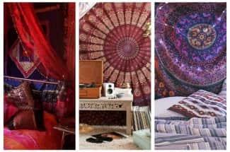 5 elementos para transformar tu habitación en un espacio hindú