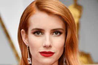 Emma Roberts apuesta por el 'Blorange' y todo el mundo la adora