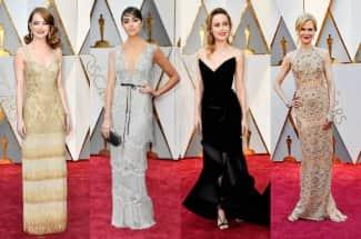 Las famosas mejor vestidas de los Oscar 2017