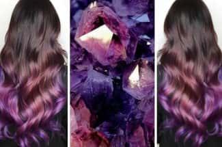 'Geode Hair': el efecto de cristal precioso que querrás aplicar en tu cabello