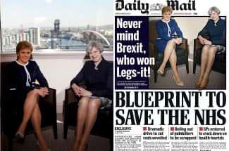 El 'Daily Mail' se corona como uno de los medios más sexistas por esta portada