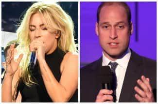 La importante y emotiva videollamada entre Lady Gaga y el Príncipe William
