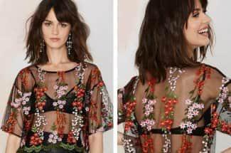 Blusas bordadas: la colorida tendencia que debes usar esta temporada