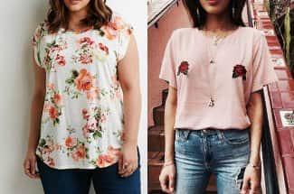Rosas, el nuevo estampado que busca conquistar a las fashionistas