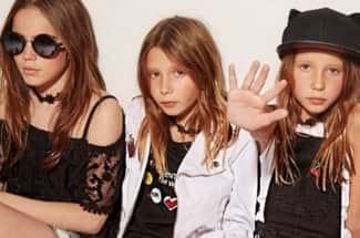 Marca de ropa infantil causa polémica al mostrar niñas extremadamente delgadas