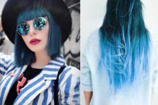 'Blue hair' la sexy y versátil tendencia de la temporada que te encantará