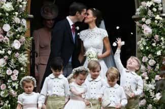 Entre estilo y realeza, así fue la boda de cuento de 'Pippa', la hermana de Kate Middleton