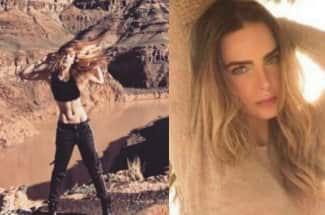 'Eso es photoshop': Critican el abdomen de Belinda por verse 'falso'