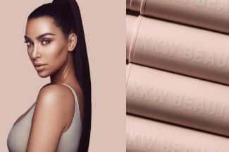 La nueva colección de maquillaje de Kim Kardashian aún no sale a la venta y ya es polémica