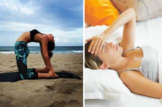 5 asanas de yoga que te ayudarán a combatir los horribles dolores premenstruales
