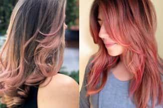 'Pink champagne' el color de cabello que le va perfecto a la mujeres de tez blanca