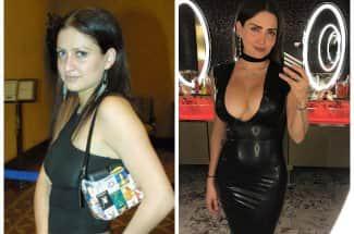 Este es el antes y el después de Celia Lora a través de los años