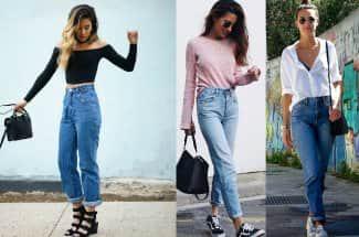 5 formas de llevar los 'mom jeans', una para cada día de la semana