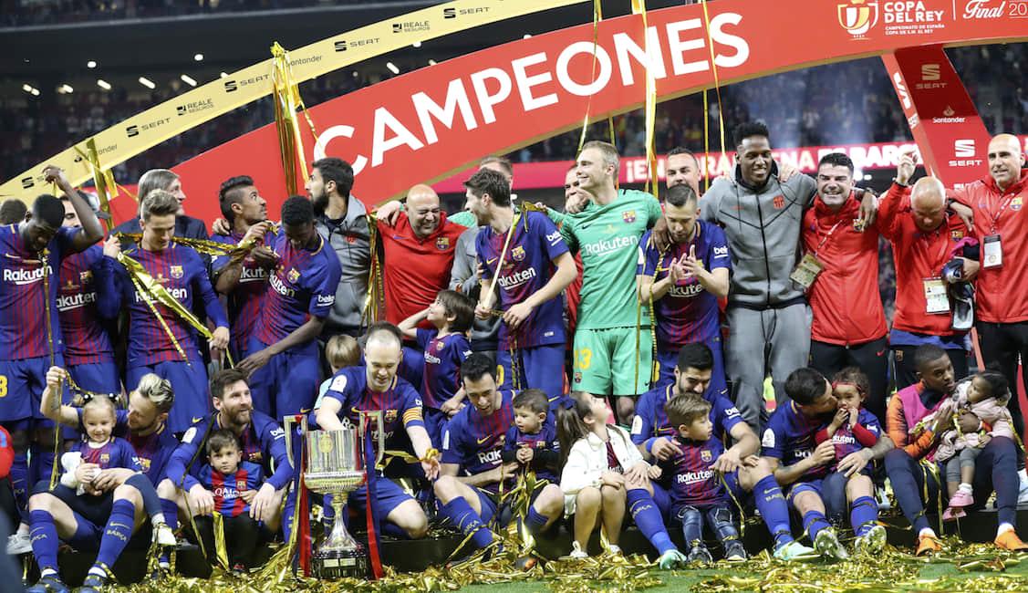 El premio de Yerry Mina por ganar la Copa del Rey con Barcelona solo cuenta si hay un doblete