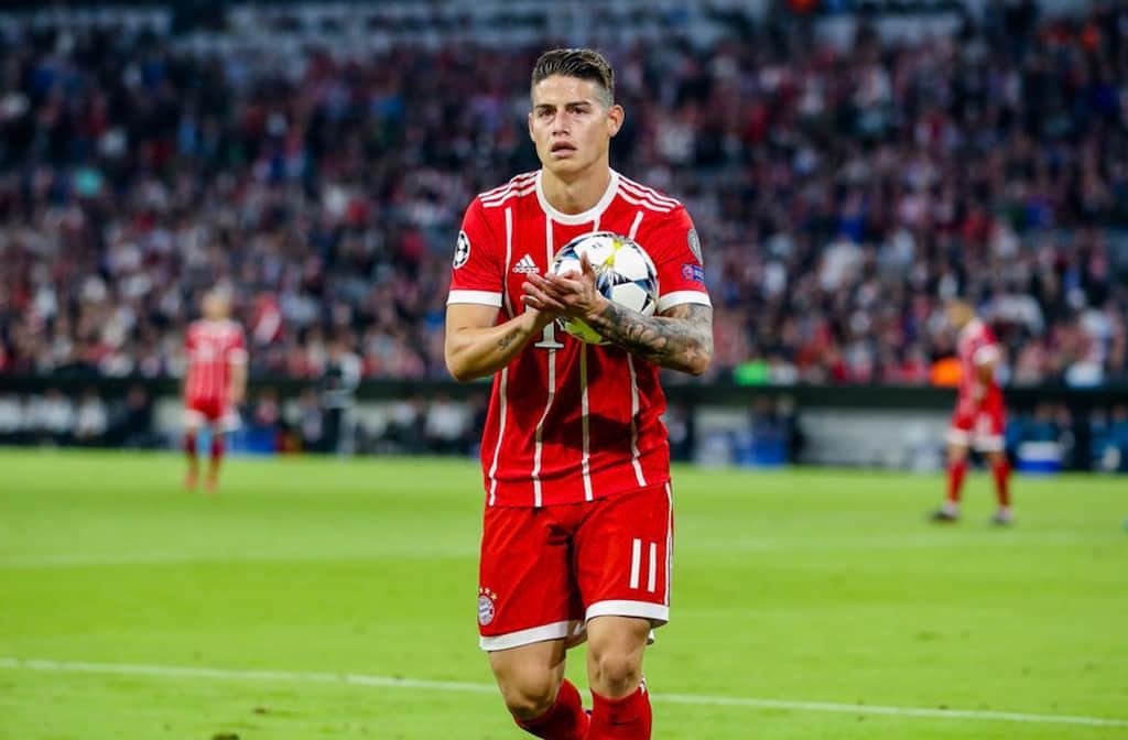 Agencia que representa a James Rodríguez afirma que se queda en Bayern München