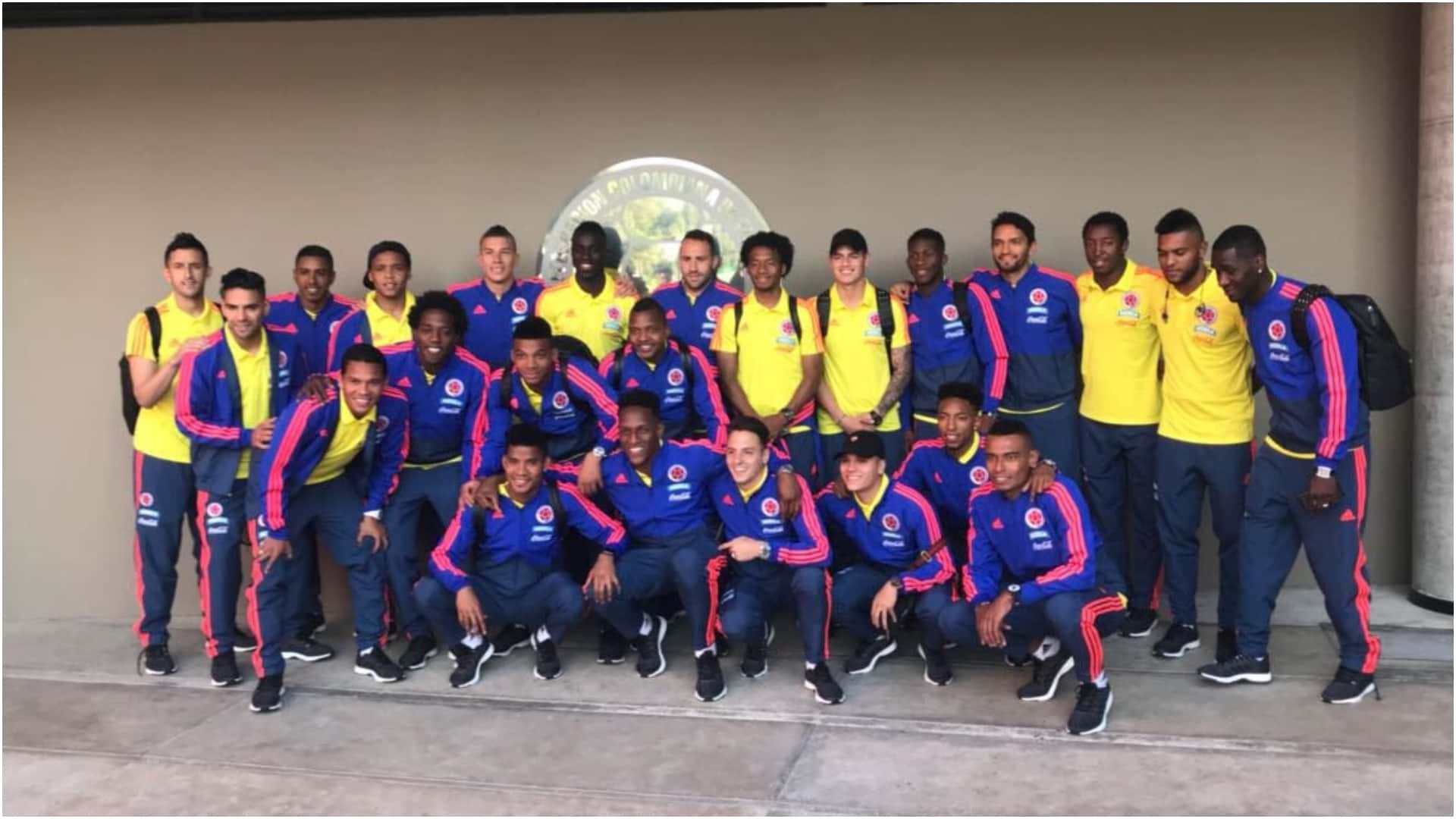 La selección Colombia viajó rumbo a Italia para el amistoso contra Egipto