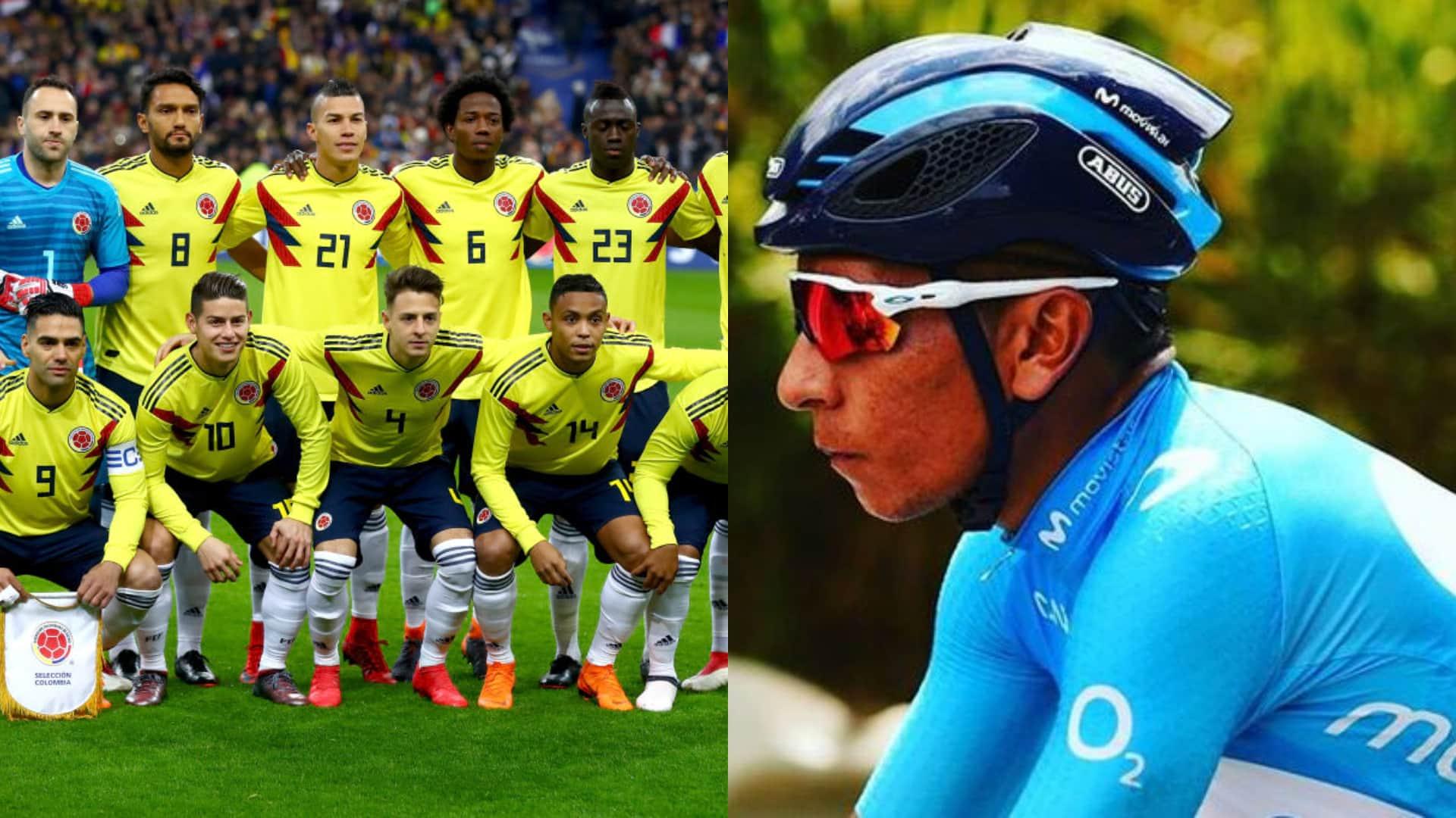 Video: Mensaje de Nairo Quintana para la selección Colombia rumbo al Mundial Rusia 2018