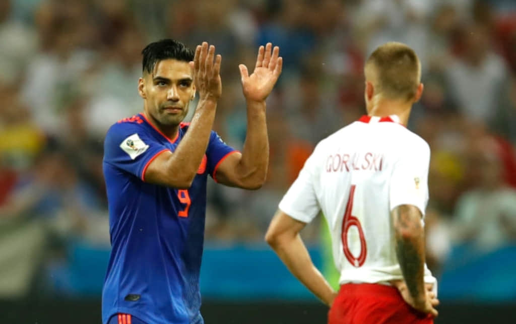 Declaraciones de Falcao García por el gol anotado con Colombia VS Polonia