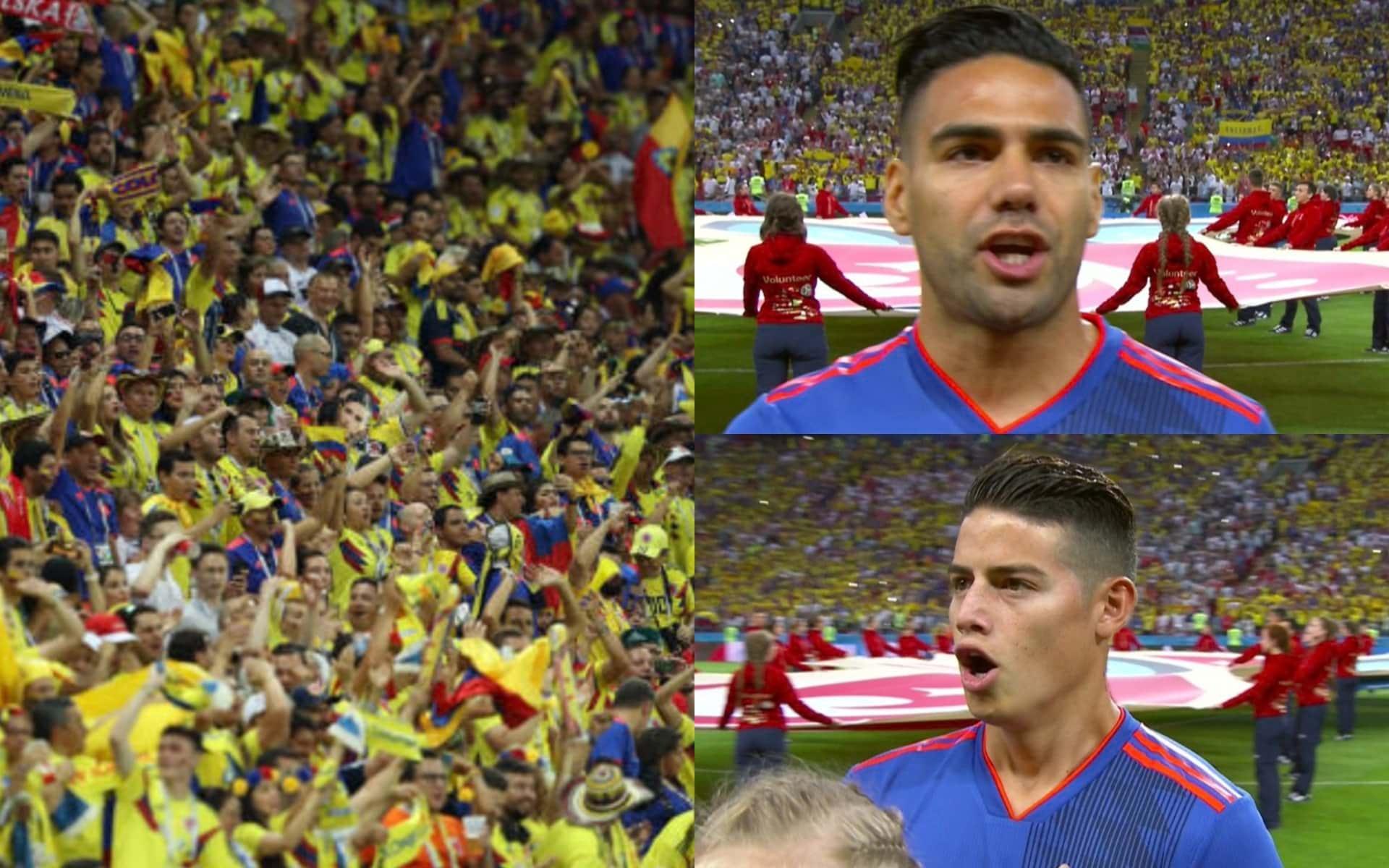 Video: Himno de Colombia VS Polonia en el Mundial Rusia 2018 en el Kazan Arena