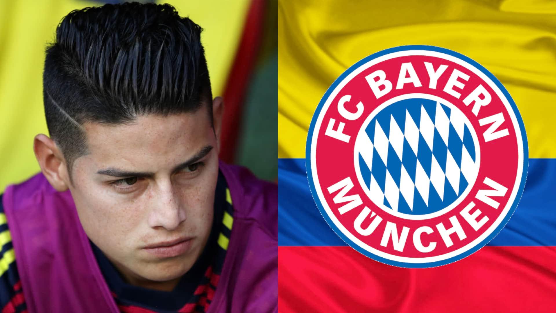 Mensaje de apoyo de Bayern München a James Rodríguez por la derrota contra Japón