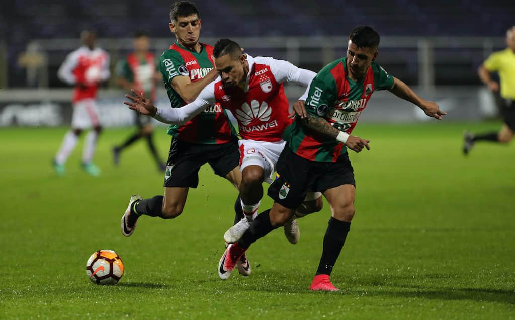 Video: Resumen de Rampla Juniors VS Santa Fe por ida de Copa Conmebol Sudamericana 2018